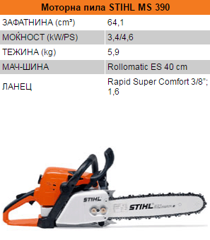 STIHL MS 390